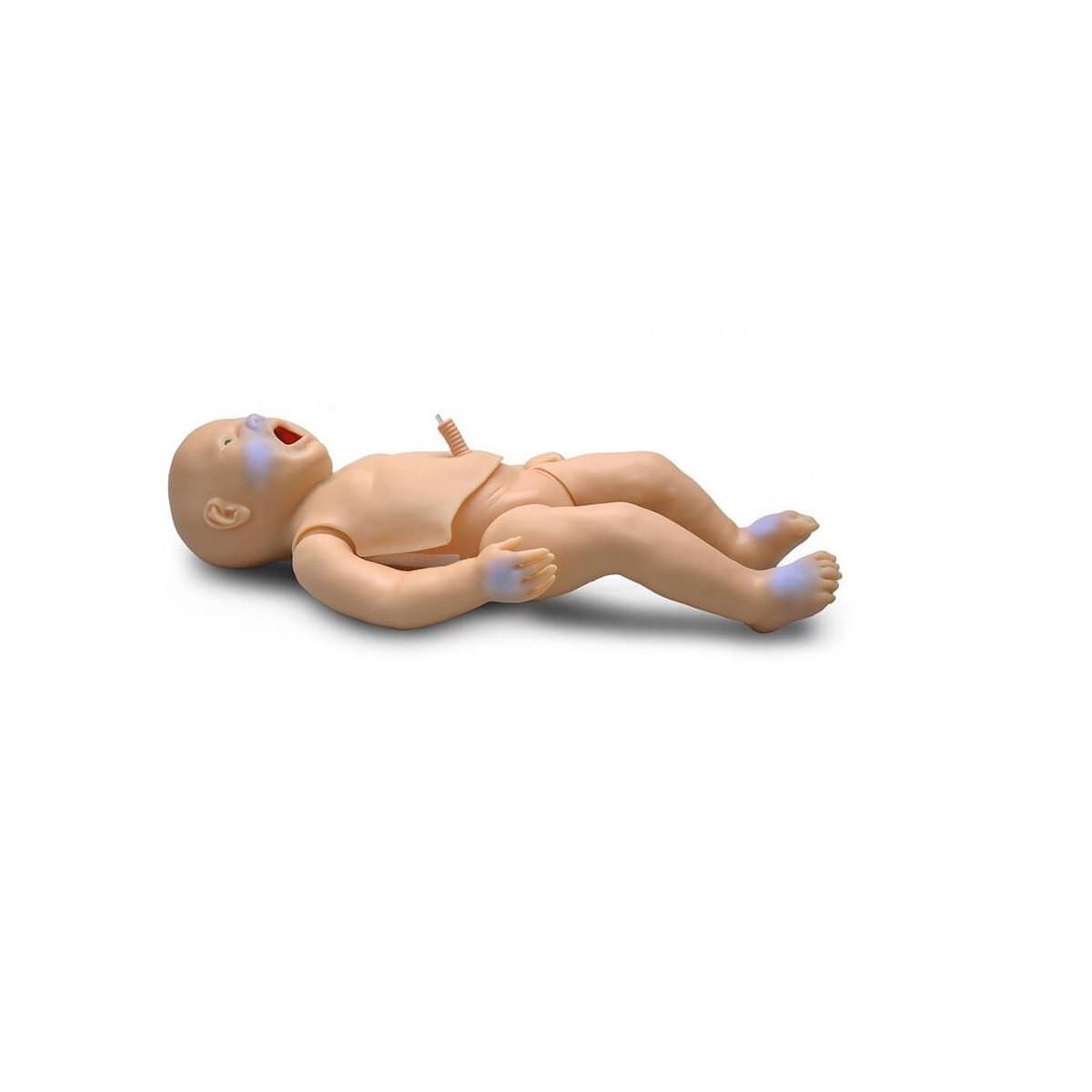 PEDI® Blue Neugeborenensimulator mit SmartSkin™-Technologie
