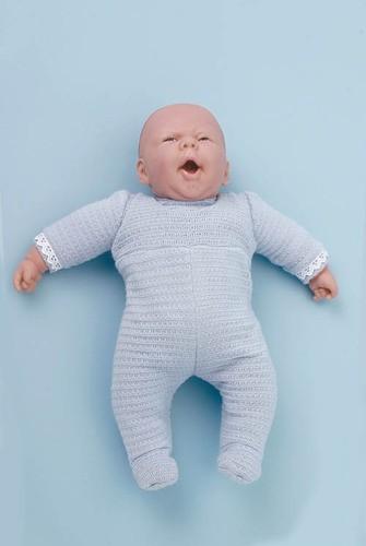 Babypuppe für die Physiotherapie