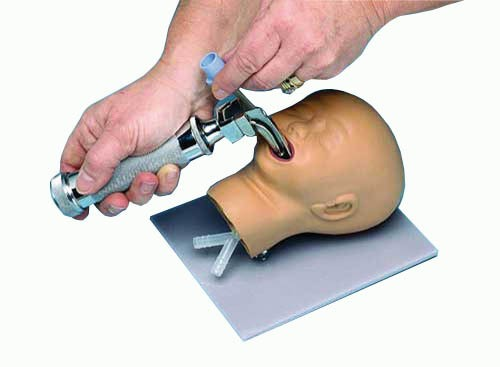 Intubationskopf Neugeborenes