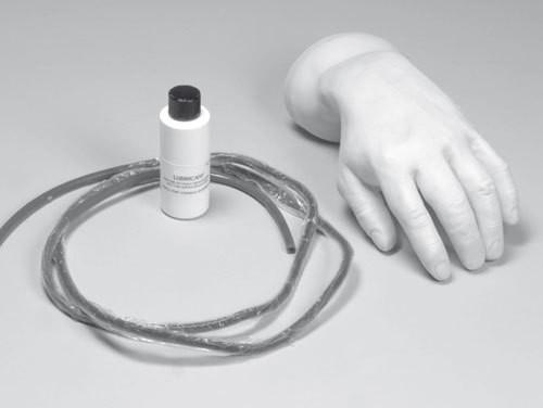 Ersatzset Haut und Venen für IV Injektionshand