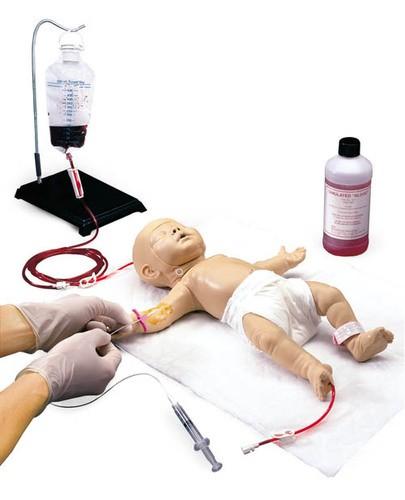 Nita Newborn - Säuglingspuppe für venöse Gefäßzugänge