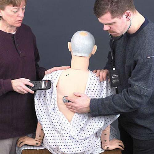 Nachrüstsatz Auskultation für GERI-Pflegepuppe