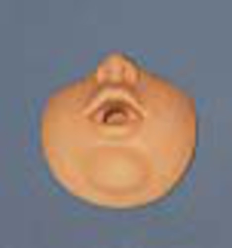 Gesichtsteile für Wiederbelebungspuppe Säugling