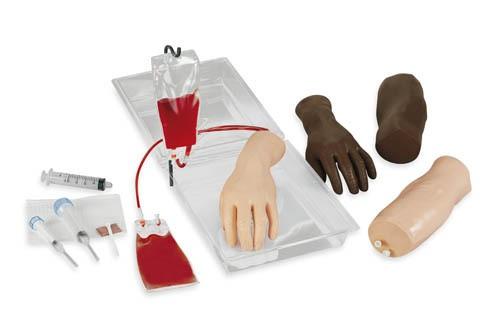 Tragbare Injektionstrainer IV Arm und Hand