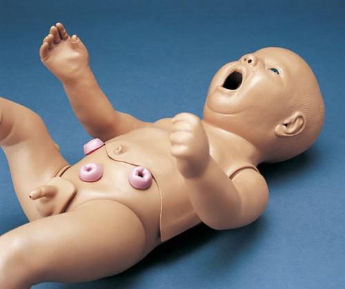 Intravenöser Übungsarm für Pflegepuppe Neugeborenes