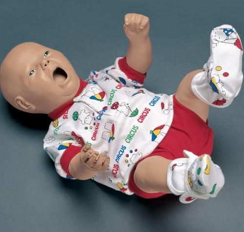 Intraossäres Bein für Pflegepuppe Neugeborenes