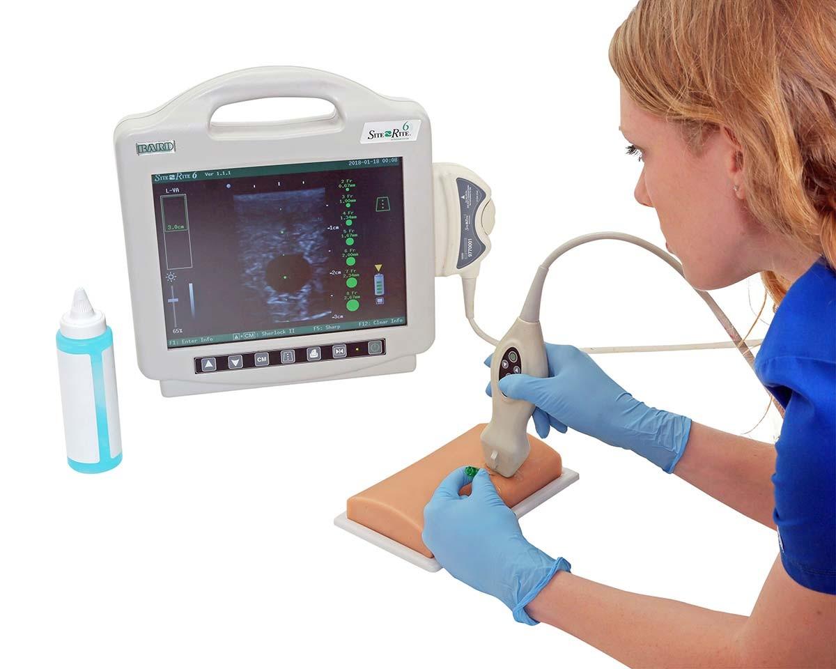 Gefäßzugangs-Ultraschallphantom 1