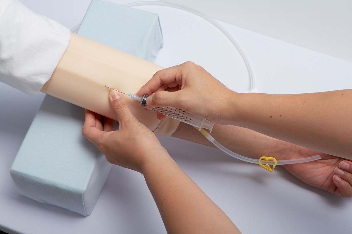 IV-Injektionstrainer zum Umschnallen, 5er Set 1