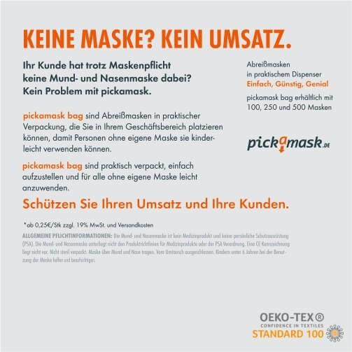 pickamask - 100 Stück