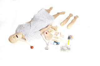 Nursing Kelly Pflegepuppe, SimPad fähig