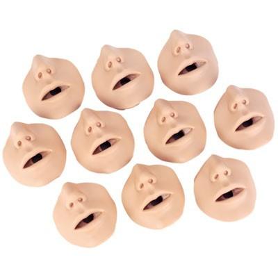 Gesichtsteile für Wiederbelebungstorso, übergewichtig