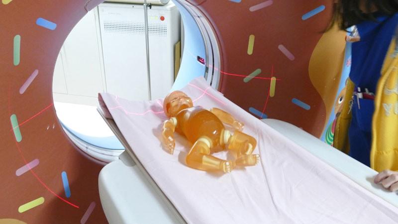 Neugeborenen Ganzkörper Röntgenphantom
