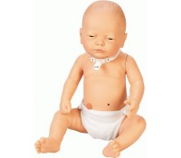 Übungsbaby für die Pflegeausbildung, männlich