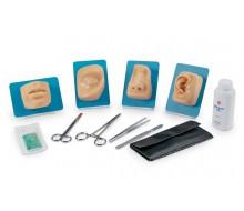 Modul-Set für den Wundverschluss im Gesicht