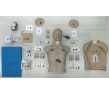 Halsabdeckung, Haut mit Schnitt, 5er Pack für Thorax-Trauma-Simulator