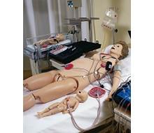 Noelle Geburtssimulator mit PEDI Blue Säuglingssimulator