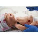 Baby C.H.A.R.L.I.E. Simulator zur neonatalen Wiederbelebung mit EKG 2