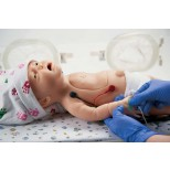 Baby C.H.A.R.L.I.E. Simulator zur neonatalen Wiederbelebung ohne EKG 5